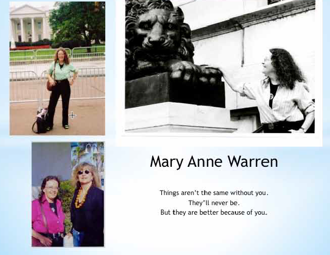 mary anne warren abortion essay Mary anne warren on abortion essay while the free essays can give you inspiration for writing, they cannot be used 'as is' because they will not meet your assignment.